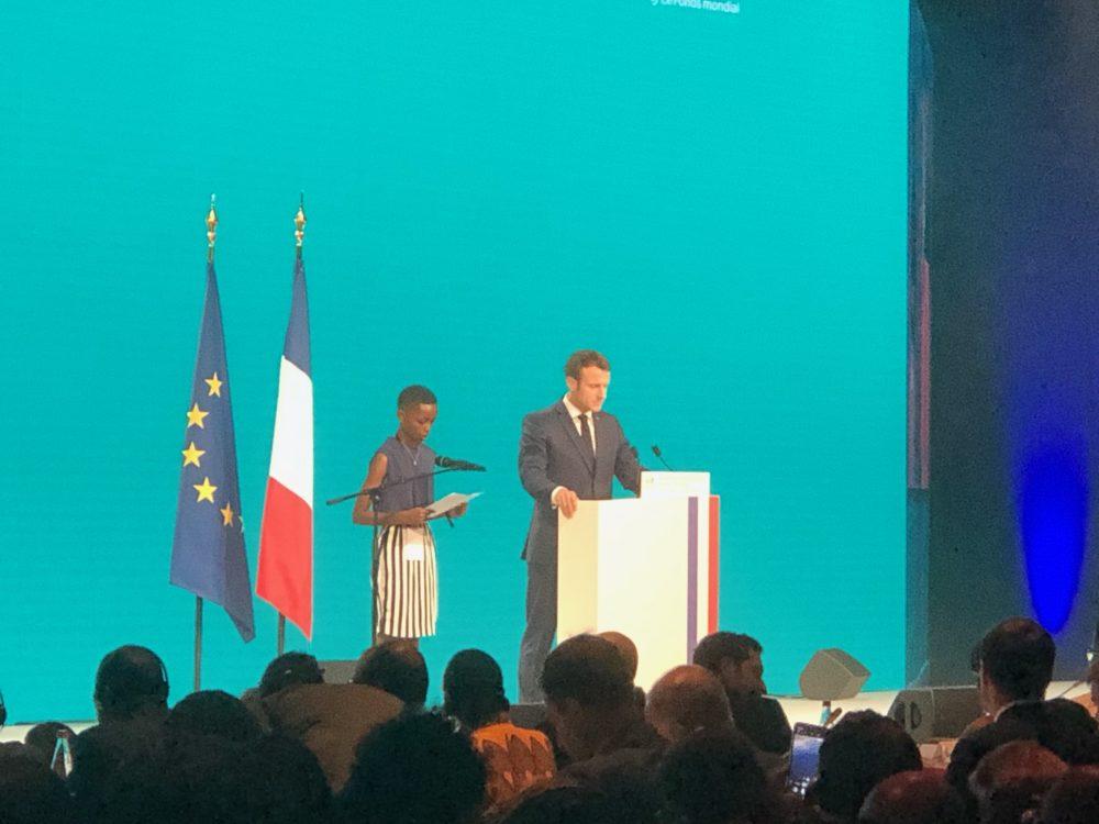 Le Président de la République française, Monsieur Emmanuel Macron